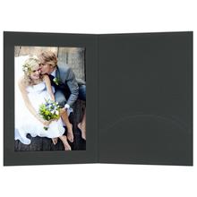 Portraitmappen mit Einsteckschlitz 10x15 cm schwarz Produktbild