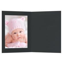 Eventmappen ohne Tasche 13x18  cm schwarz Produktbild