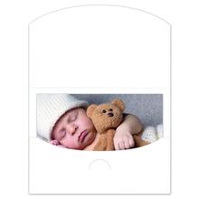 Schutzumschlag für Bilder 15x20 cm weiß Produktbild