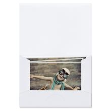 Bildmappen für Bilder 13x18 cm weiß matt Produktbild