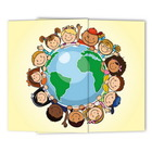 Schulfotomappe / Kindergartenmappe Kinder dieser Welt 13x18 cm Produktbild