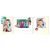 Schulfotomappe / Kindergartenmappe Kinder dieser Welt 13x18 cm Produktbild Additional View 3 2XS