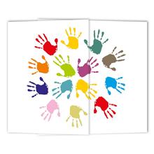Schulfotomappe / Kindergartenmappe Hände 13x18 cm Produktbild