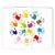 Schulfotomappe / Kindergartenmappe Hände 13x18 cm Produktbild Front View 2XS