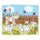 Schulfotomappe / Kindergartenmappe Farm 13x18 cm Produktbild