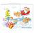 Schulfotomappe / Kindergartenmappe Weihnachtsmann 13x18 cm Produktbild Front View 2XS
