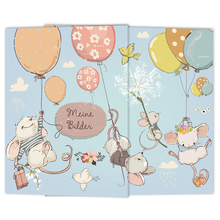 Schulfotomappe / Kindergartenmappe Mäuse 13x18 cm Produktbild