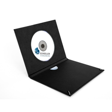 Momentum DVD-Cover Akilea Bag 16x22 Gummi Efalin schwarz Produktbild