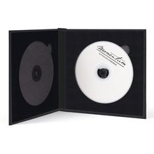 Momentum DVD-Cover für 2 DVDs Akilea DUO 16x16 Leinen grau Produktbild