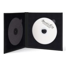 Momentum DVD-Cover für 2 DVDs Akilea DUO 16x16 Leinen schwarz Produktbild