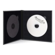 Momentum DVD-Cover für 2 DVDs Akilea DUO 16x16 Velours grau Produktbild