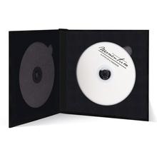 Momentum DVD-Cover für 2 DVDs Akilea DUO 16x16 Velours schwarz Produktbild