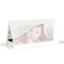Momentum Designkarte Amilia 10x20h weissgold Produktbild