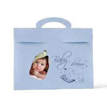 Momentum Kindermappe Baku 15x20 blau Produktbild