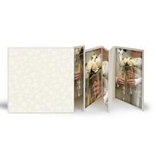 Momentum Leporello mit Schuber Bizet 10x10 creme Produktbild