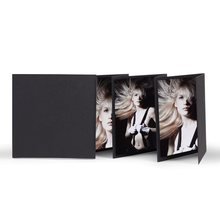 Momentum Leporello mit Schuber Bizet 10x10 schwarz Produktbild