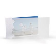 Momentum Designkarte Felipa 10x20q weissgold Produktbild
