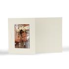 Momentum Designfotokarte Floyd mit Ausschnitt für  10x15 cm - creme Produktbild