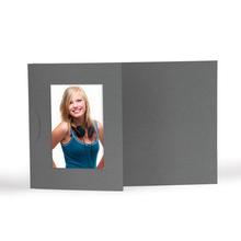 Momentum Designfotokarte Floyd mit Ausschnitt für  10x15 cm - anthrazit Produktbild