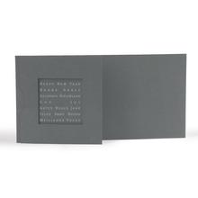 """Momentum Designfotokarte Floyd """"New Year"""" für 10x20 cm - anthrazit Produktbild"""