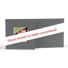 Momentum Designfotokarte Floyd mit Ausschnitt für  10x20 cm - anthrazit Produktbild