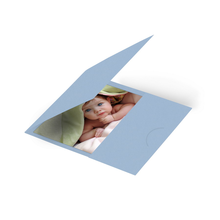 Momentum Passmappe GENT 7x9 babyblue Produktbild