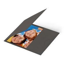 Momentum Passmappe GENT 7x9 zino gray Produktbild