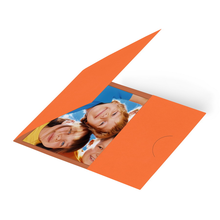 Momentum Passmappe GENT 7x9 orange Produktbild