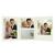 Momentum 3 tlg. Fotomappe mit Passepartouts für 13x18 cm/15x20 cm/20x30 cm zum Konfigurieren - creme Produktbild Front View 2XS