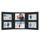 Momentum 3 tlg. Fotomappe mit Passepartouts für 13x18 cm/15x20 cm/20x30 cm zum Konfigurieren - schwarz Produktbild