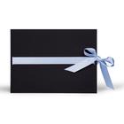 Momentum Passepartoutmappe LIV2 13x18 schwarz/babyblau Produktbild