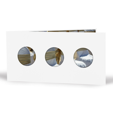 Momentum Foto-Designkarte Luuni mit 3 Ausschnitten für 10x20 cm - weiß Produktbild