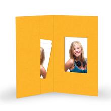 Momentum Passbildmappe Passport 6x9.5 mango - AUSLAUFPRODUKT Produktbild