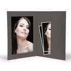 Momentum Portraitmappe 13x18 grau Produktbild