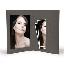 Momentum Portraitmappe 20x30 grau Produktbild