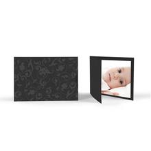 Momentum Doppel-Faltkarte mit Schuber St.Lucia für 10x15 cm - schwarz Produktbild