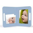 "Momentum Fototasche mit Griff ""Uma"" 13x18 babyblau Produktbild"