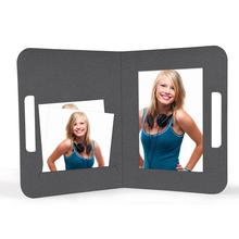 "Momentum Fototasche mit Griff ""Uma"" 13x18 grau Produktbild"