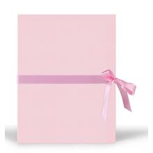 Momentum Faltmappe Yuma-Satin 16x21 rosa Produktbild