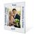 Individuell bedruckbarer Aufsteller mit weißer starker Rückwand für 10x15 cm - 100 Stück Produktbild Front View 2XS