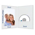 Individuell bedruckbare DVD/CD Fotomappe für 15x20 cm - 4-farbig bedruckbar - 100 Stück Produktbild