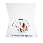 Individuell bedruckbare DVD/CD Tasche für CD, Paß- und Bewerbungsbilder - 4-farbig bedruckbar - 100 Stück Produktbild