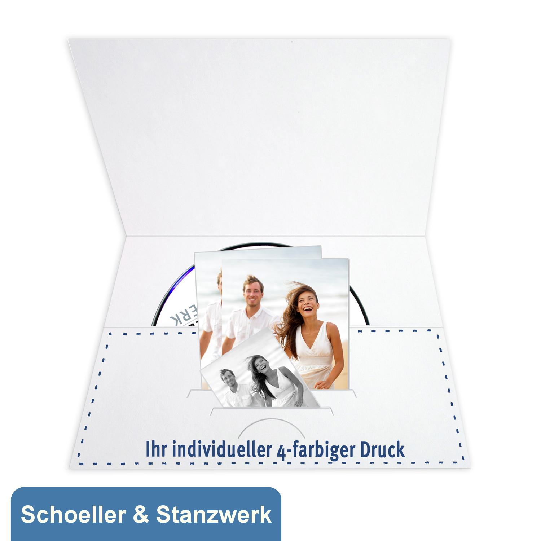 Individuell bedruckbare DVD/CD Tasche für CD, Paß- und ...