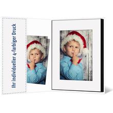 Individuell bedruckbare Hülle aus Karton für Leporellos bis 16x21,5 cm - 4-farbig bedruckbar - 100 Stück Produktbild