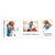 Individuell bedruckbare Schulfotomappe / Kindergartenmappe für 13x18 cm mit Fototasche - 4-farbig bedruckbar - 100 Stück Produktbild Additional View 2 2XS