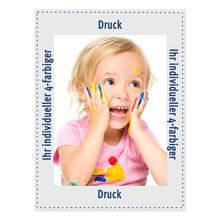 Individuell bedruckbare Fotomaske für 15x20 cm - 4-farbig bedruckt - ohne Rückwand - 100 Stück Produktbild