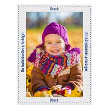 Individuell bedruckbare Fotomaske für 20x30 cm - 4-farbig bedruckt - ohne Rückwand - 100 Stück Produktbild