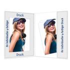 Individuell bedruckbare Portraitmappe mit Tasche für 15x20 cm - 4-farbig bedruckbar - 100 Stück Produktbild