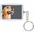 Schlüsselanhänger für Paßbilder 4,6x3,2 cm - Klassik Produktbild Front View 2XS